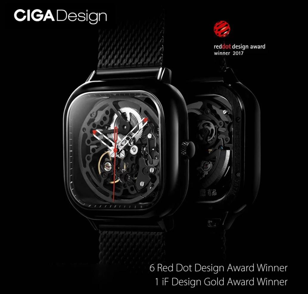 Xiaomi CIGA Design Men Full Hollow Business Watch