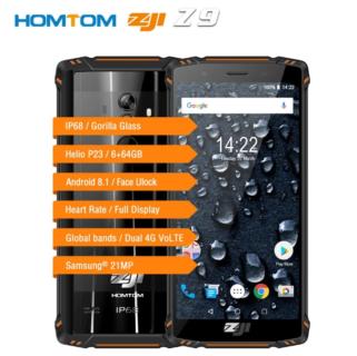 HOMTOM ZOJI Z9 5.7インチB19対応タフネススマホが$229.99でプレセール開始