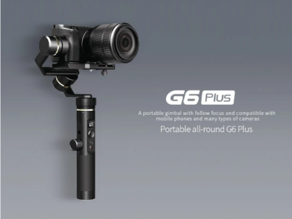 一眼レフ用スタビライザー FeiyuTech G6 Plus 3-Axis Stabilized Handheld Gimbal が$201.90(22,813円)でセール中