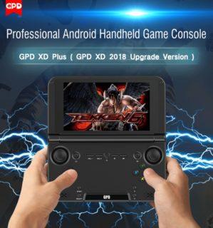 【クーポンで$189.99】GPD XD Plus スペックレビュー Android7.0搭載のゲーム機