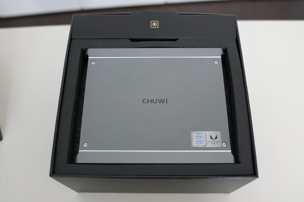 Chuwi HiGame mini PC レビュー
