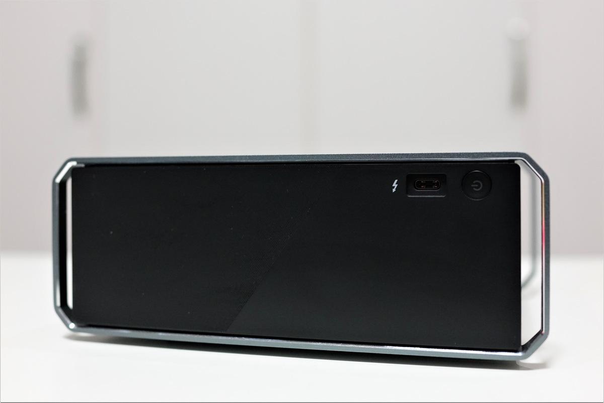 Chuwi HiGame mini PC レビュー Thunderbolt 3ポート対応