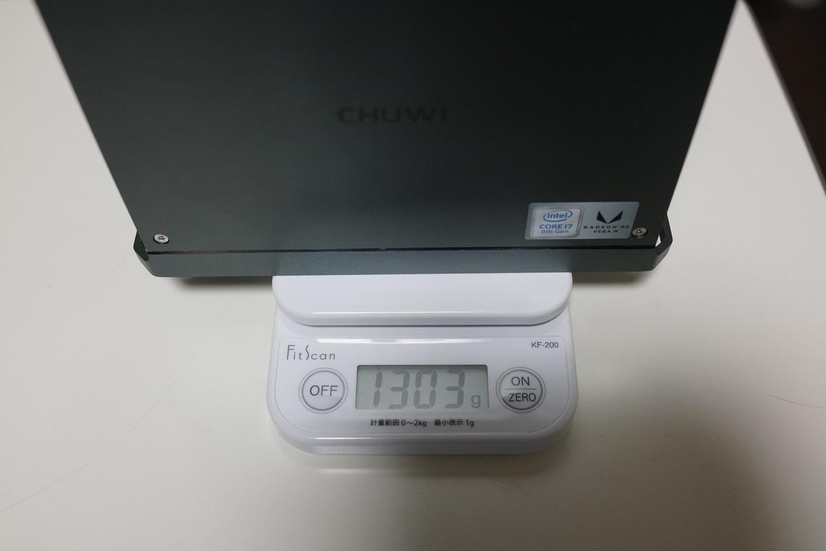 Chuwi HiGame mini PC レビュー バックに入れて持ち歩けるサイズ感