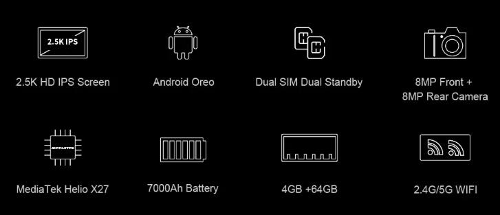 CHUWI HI9 PLUS MT6797搭載2.5Kディスプレイの10.8インチタブレットPCが登場