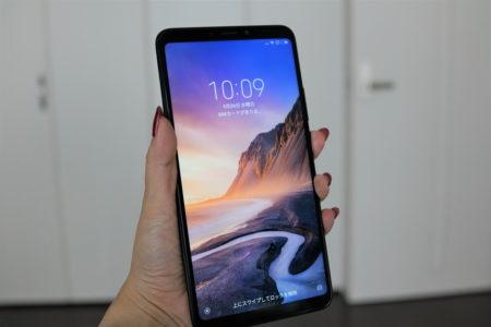 【セールで$189.99】Xiaomi mi max 3 レビュー カメラ性能・対応周波数・割引クーポン等まとめ