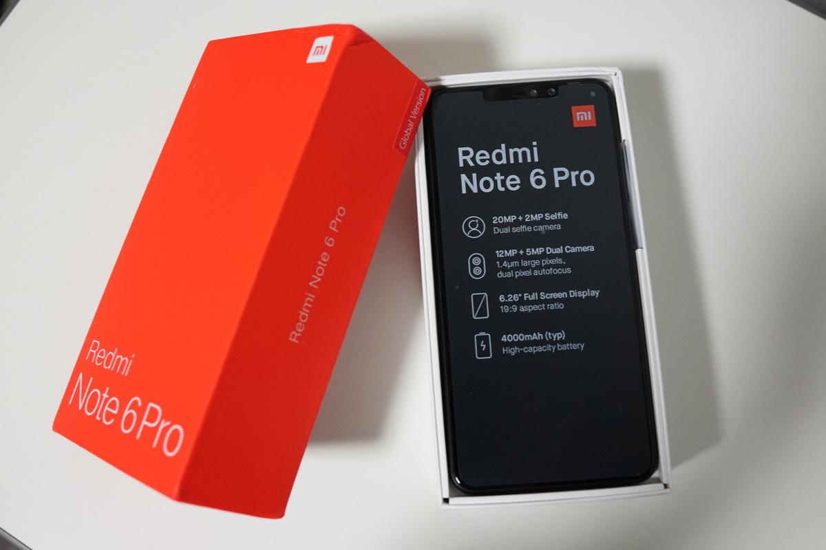 Xiaomi Redmi Note 6 Pro レビュー