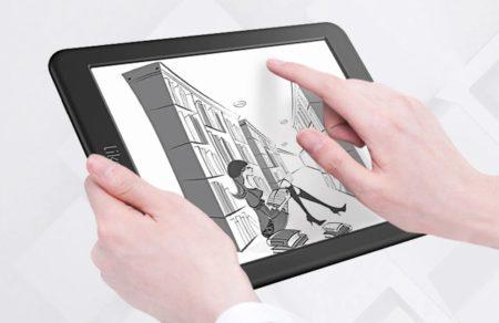 7.8インチ読書に最適なLikebook Mars T80Dタブレットがクーポンで$199.99