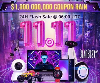 【2018年GearBestの双11セール最新情報】ガジェットフリーク読者様の中から抽選で1名様にXiaomi Redmi 6をプレゼント