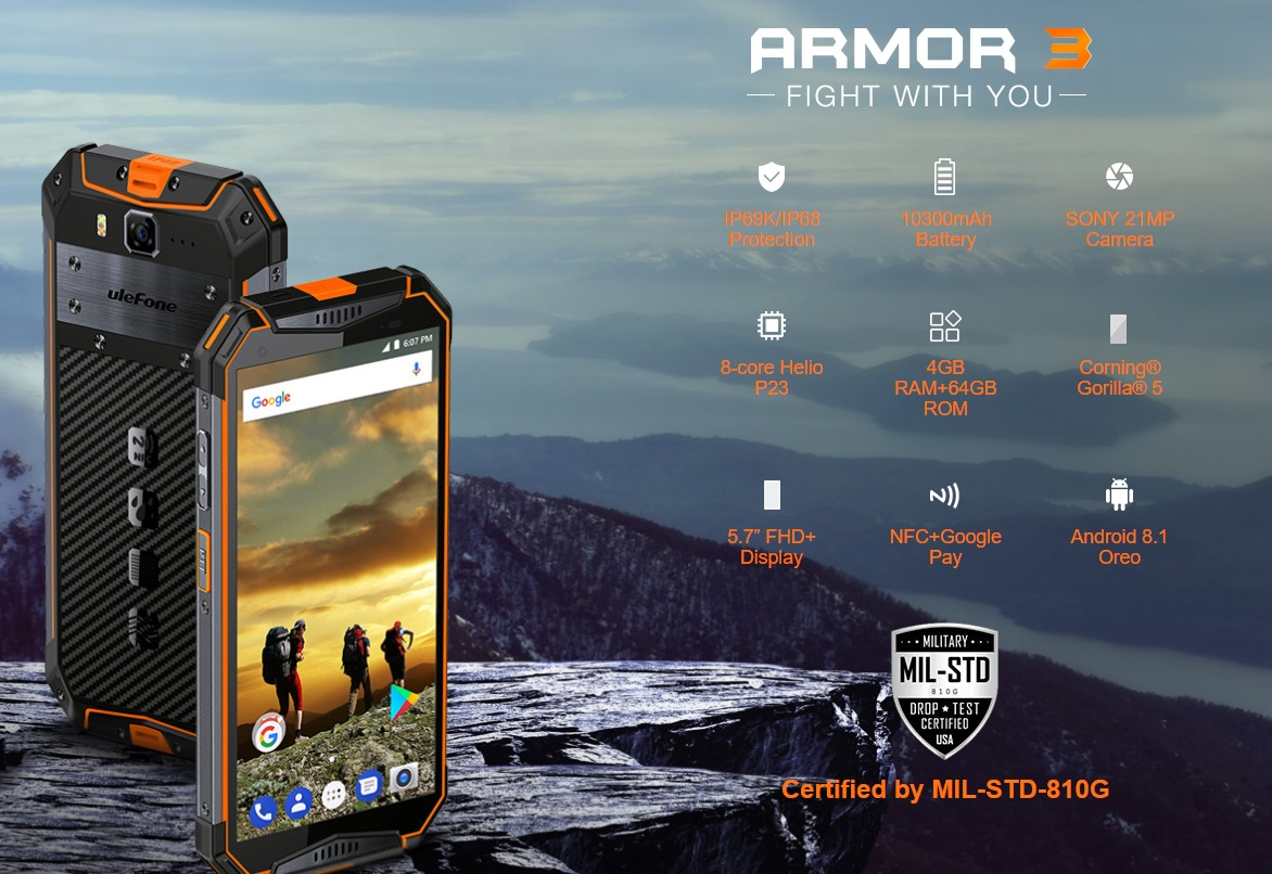 Ulefone Armor 3T レビュー