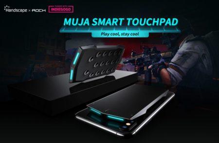 スマホ背面につけるBluetoothゲームコントローラー「MUJA」がIndiegogoに登場!今なら半額購入のチャンス!