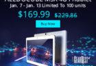 Chuwi Hi9 8.4インチ・メモリ4GBのandroid 7.0タブレット