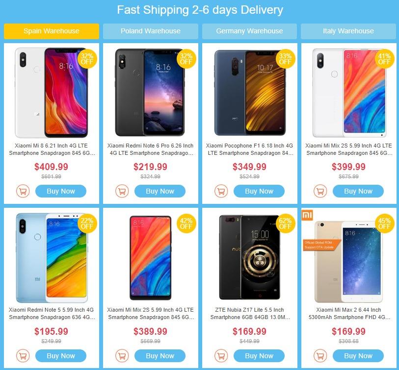 Geekbuyingの新春スマホBIGセールで最大62%割引!Xiaomi Mi Mix 2Sが$359.99や、Blackview BV9600 PROが$369.99、DOOGEE S80が$369.99など