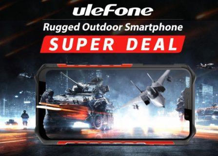 BanggoodのUlefoneセールでHelio P60搭載Armor6がワイヤレス充電器付きで$329.99!更に抽選で6名には無料で当たります!