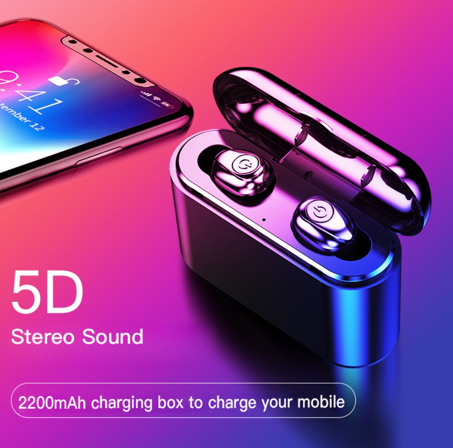 X8 TWS Bluetooth 5.0 Earbuds