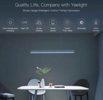 リビングに最適なXiaomi製のスマホで操作できるシーリングライトが14688円で販売中!