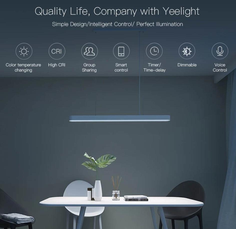 Xiaomi製のスマホで操作できるシーリングライト