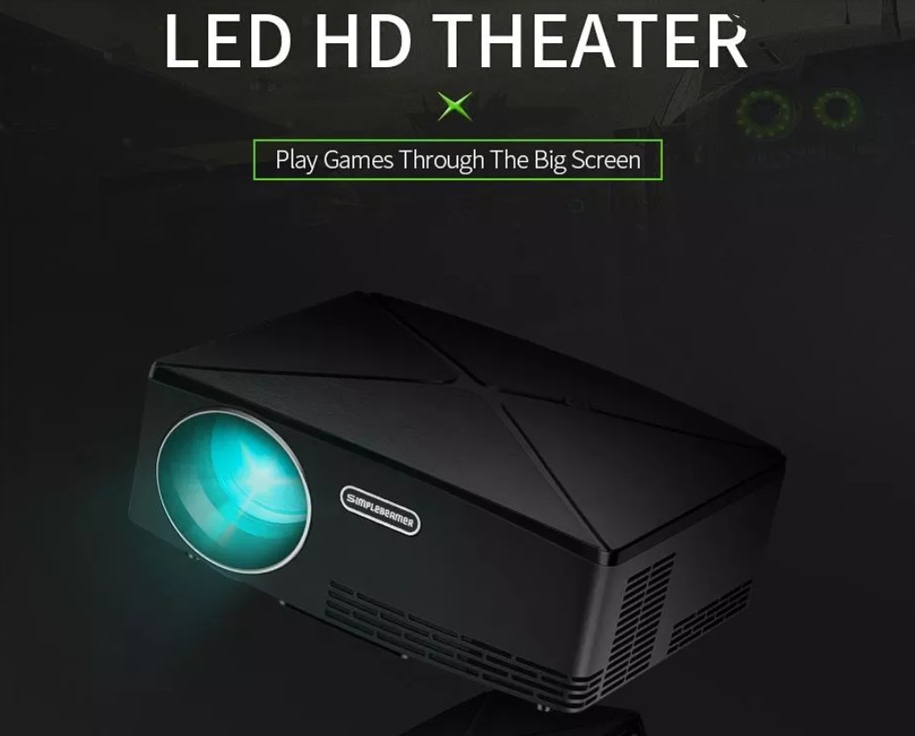 VIVIBRIGHT HD MINI Projector C80 1280x720 Video Proyector