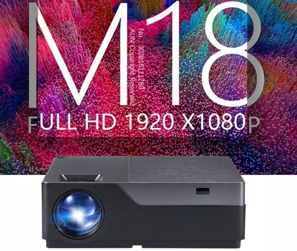 AUN M18 Full HD Projector