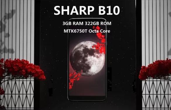 SHARP B10 Global Version