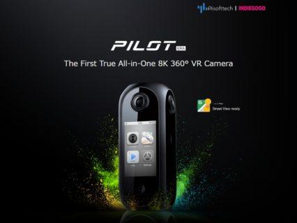 360度撮影ができる8K解像度VRカメラ「Pilot Era」がINDIEGOGOに登場予定!