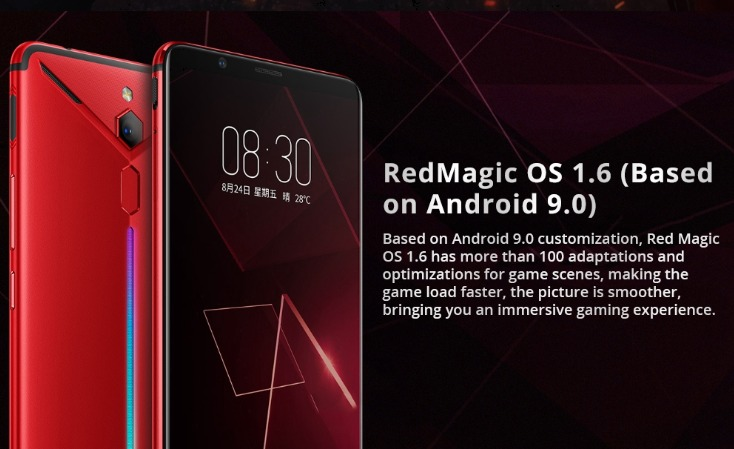 Nubia Red Magic Marsの外観写真