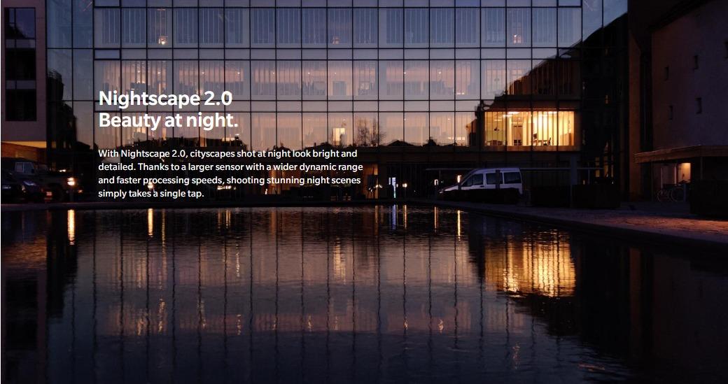 OnePlus 7 Pro レビュー リアカメラの夜間モード撮影画像