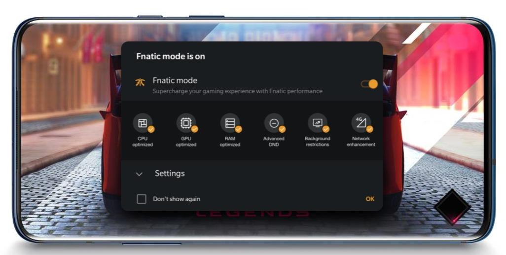 OnePlus 7 Pro レビュー Fnatic mode搭載