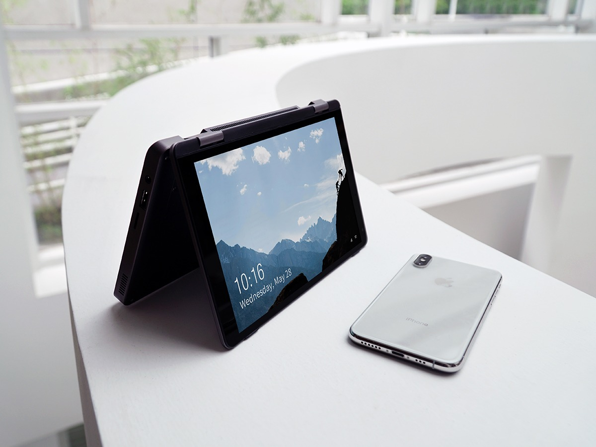 CHUWIのUMPC「MiniBook」参考写真