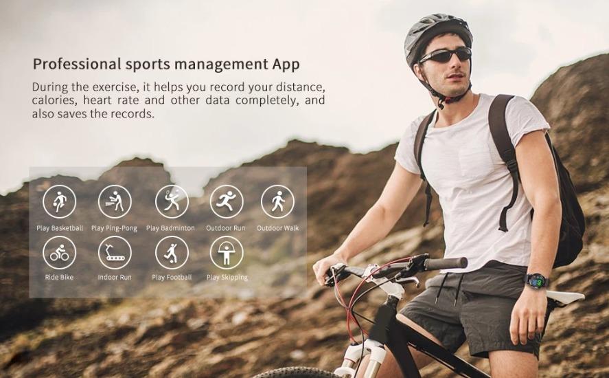 KOSPET Optimus Pro 4G LTE Smart Watch