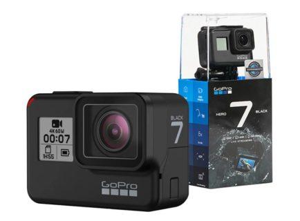 GoPro HERO7 10m耐水4Kスポーツアクションカメラが$349.99でセール中