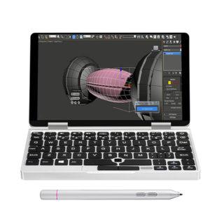 【セール価格$443.99】One Netbook One Mix 1S登場!7インチ・8GB+128GB PCI-E SSD、Intel Celeron 3965y、指紋認証も搭載!
