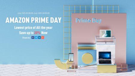 【セール告知】Amazon prime dayセールでALLDOCUBEの人気タブレットPCが最大20%割引に!