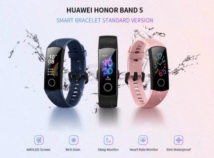 【セール価格$28.51】HUAWEI Honor Band 5  血中濃度測定が面白い!