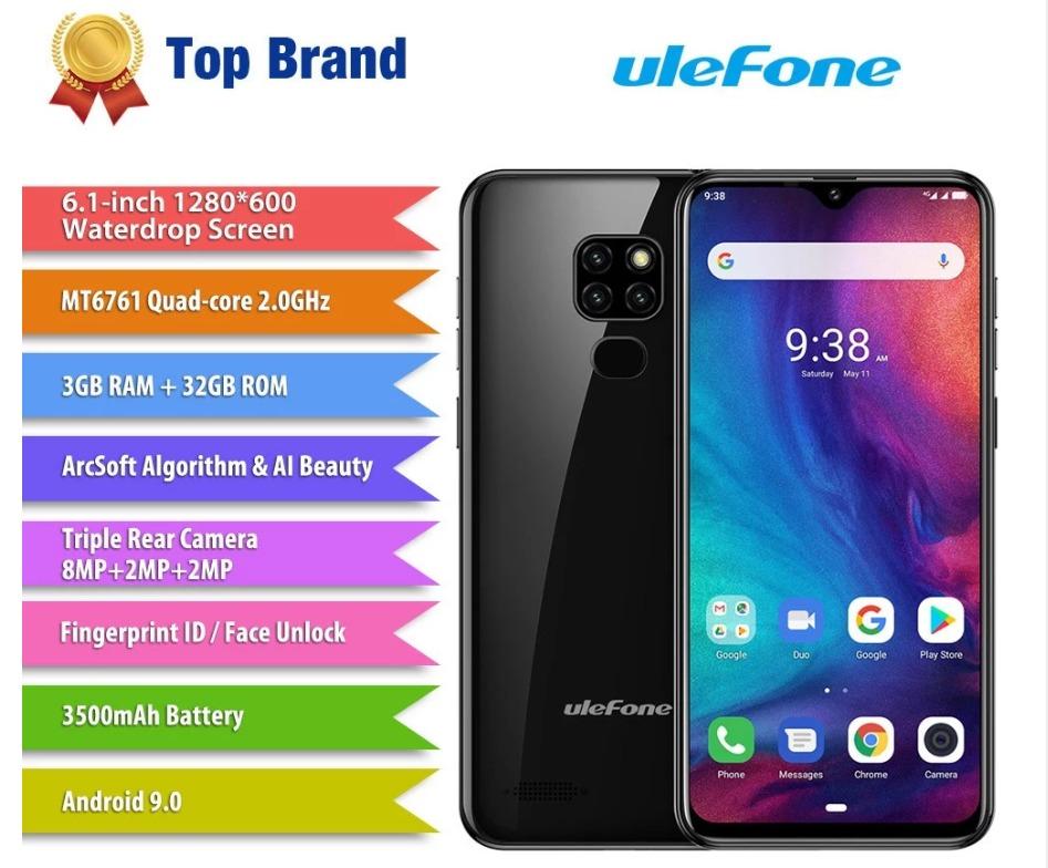 Ulefone Note 7P スペックレビュー