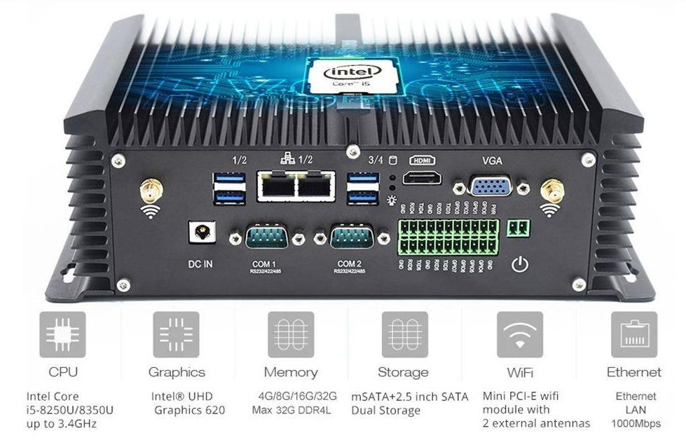 HYSTOU P12 i5 8G 256G Mini PC