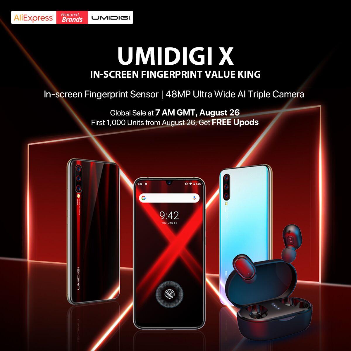 UMIDIGI X スペック詳細