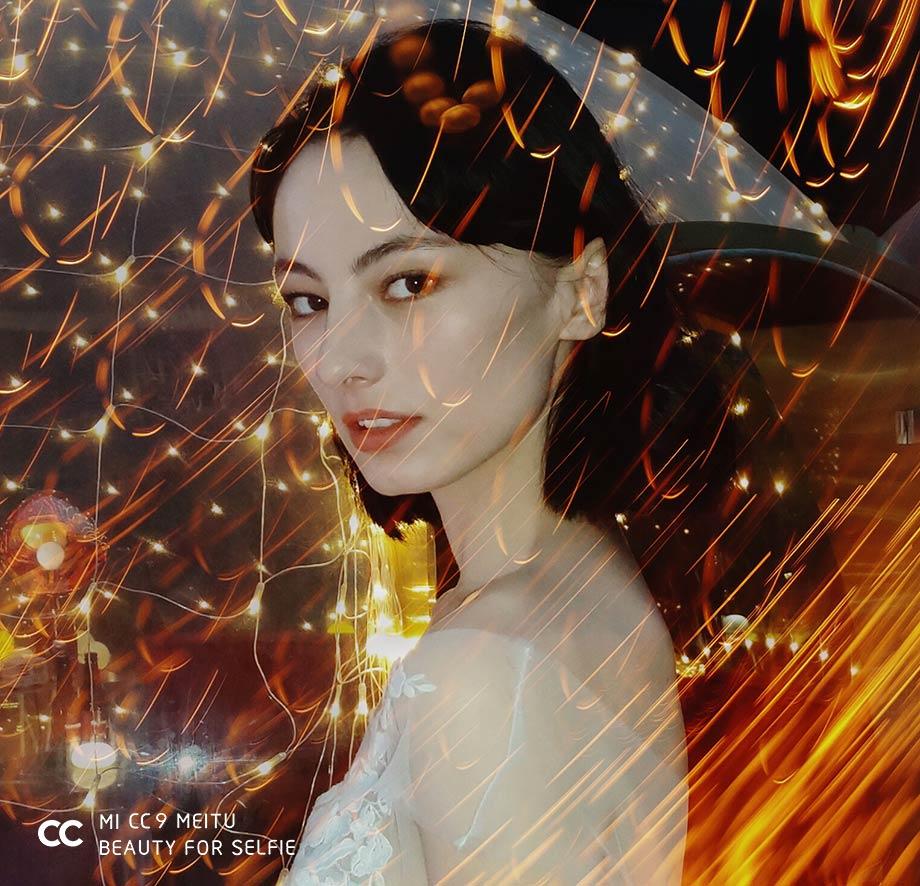Xiaomi Mi CC9 Meitu Editionのフロントカメラ撮影写真サンプル