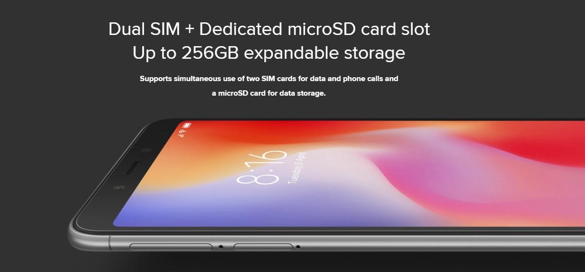 Xiaomi Redmi 6A スペックレビュー