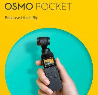 【セール価格$315.99】DJI Osmo Pocket スペックレビュー 手持ちでブレのない動画と写真が撮影できるコンパクトカメラ