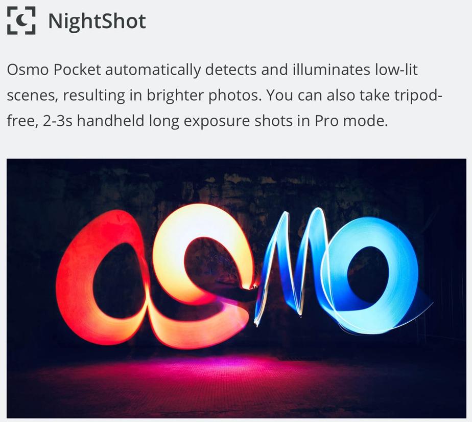 DJI Osmo Pocket スペックレビュー