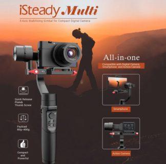 【セール価格$113】SONY RX100シリーズとスマホが使える3軸スタビライザーhohem iSteady Multi