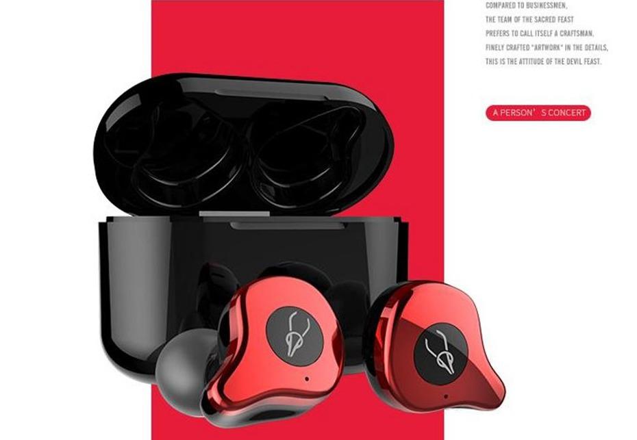 Sabbat E12 Bluetooth 5.0 TWS Earphone 750mAh Type-C Cable