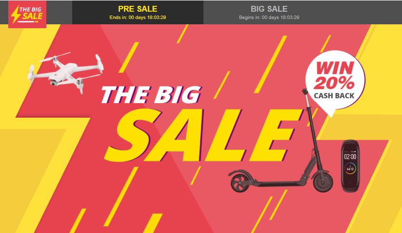 GeekbuyingでBig Sale開催中