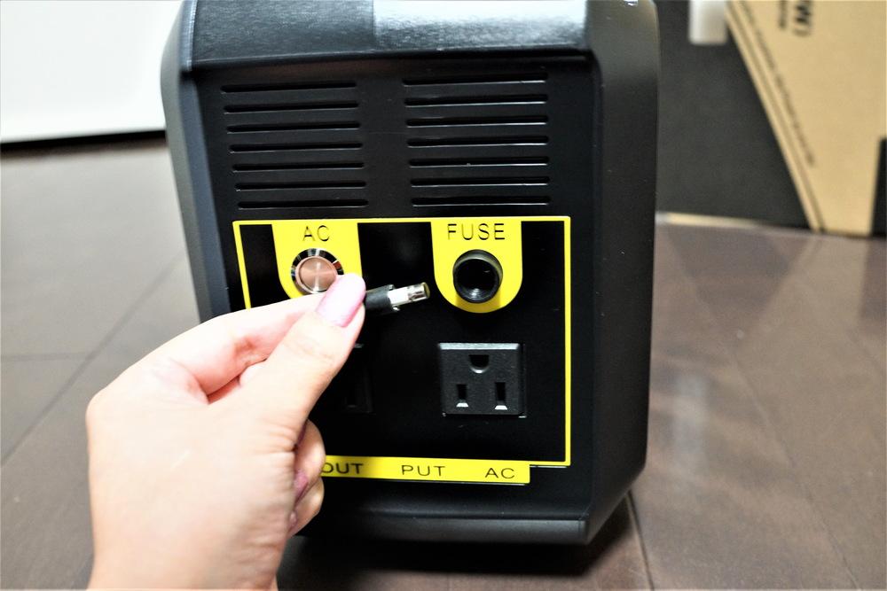 停電時に便利AC電源搭載で500Wまで使えるポータブル電源BOSSCAT AY-006レビュー 過電流防止対策について