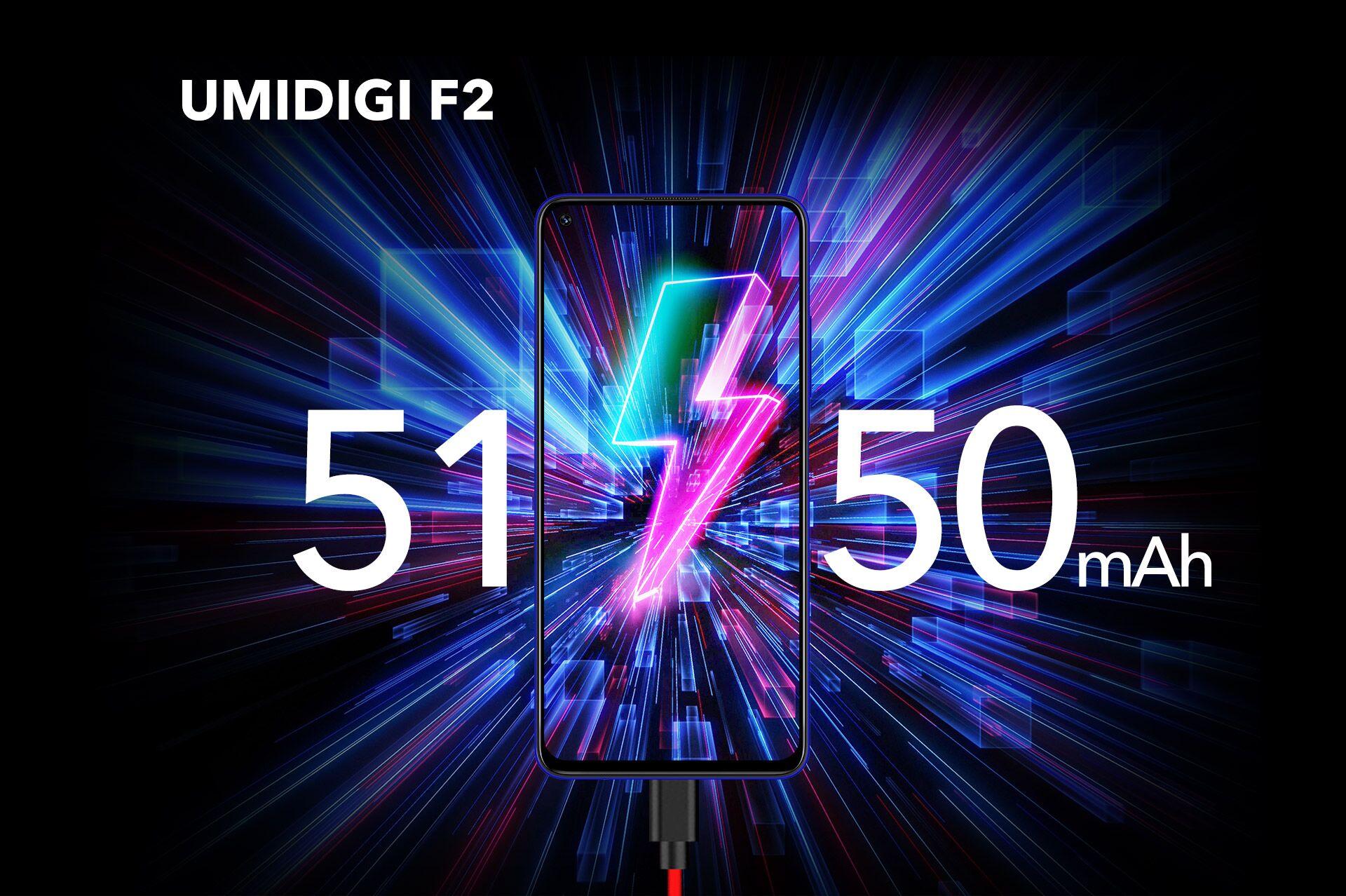 UMIDIGI F2 のスペックレビュー