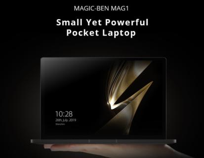8.9インチのUMPC『Magic-Ben MAG1』に4G LTE対応バージョン追加~11.11セールで$599.99より格安特価で販売中