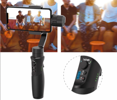 Hohem iSteady Mobile スマホ用の3軸ジンバルスタビライザーがcafagoで€62.85(7,611円)にてセール中