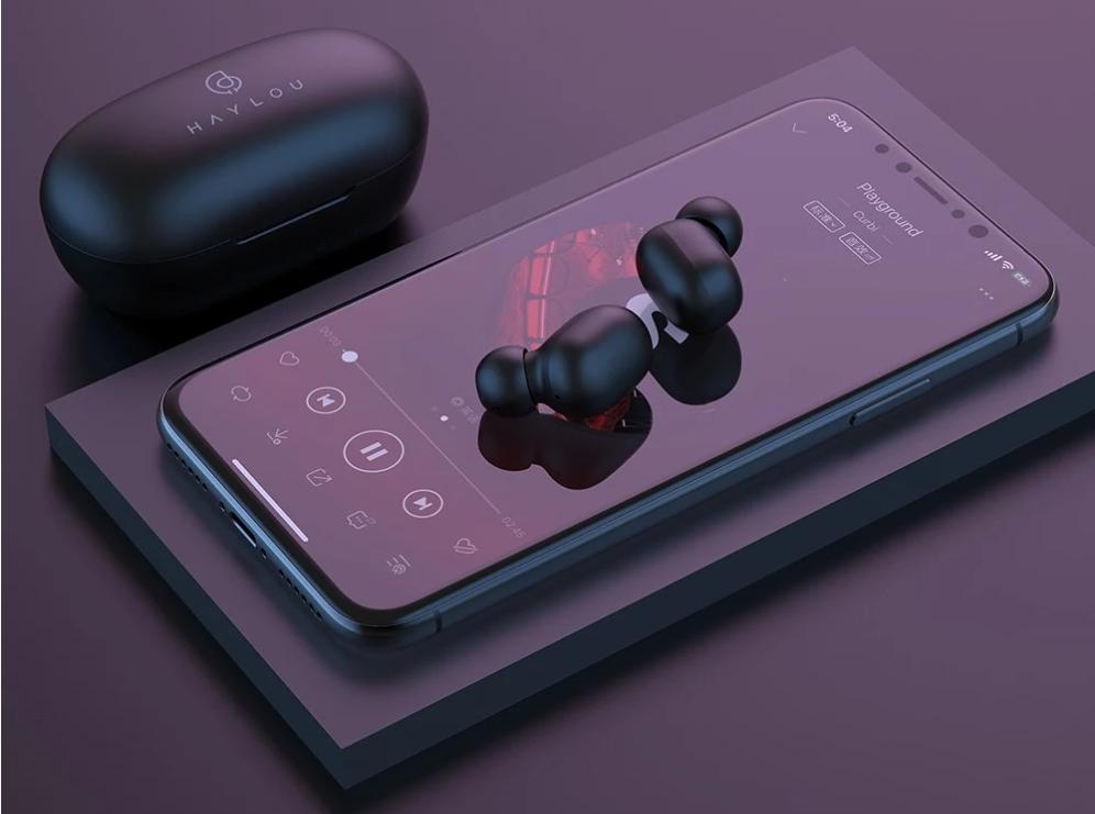 Xiaomi Haylou GT1 Pro Bluetooth5.0・AAC対応 TWSワイヤレスイヤホン