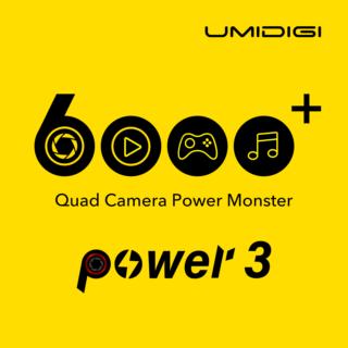 【新機種リーク情報】バッテリー6000mAh・クアッドカメラ搭載したUMIDIGI Power 3 が登場します!