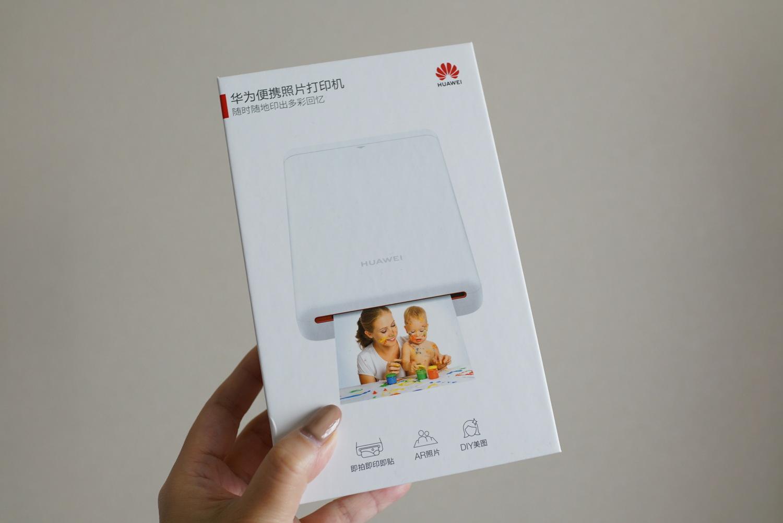 スマホの写真をその場でプリントできる Original Huawei Zink Photo AR Printer レビュー